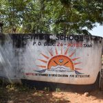 The Water Project: Kikuswi Secondary School -  School Sign And Gate