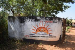 The Water Project:  School Sign And Gate