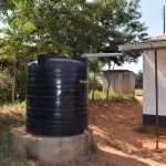 The Water Project: Kikuswi Secondary School -  Small Rainwater Harvesting Tank