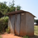 The Water Project: Kikuswi Secondary School -  Staff Latrines