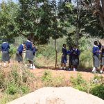 The Water Project: Kikuswi Secondary School -  Students On Break