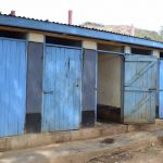 The Water Project: AIC Kyome Boys' Secondary School -  Boys Latrines