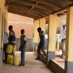The Water Project: AIC Kyome Boys' Secondary School -  Bringing Water Into The Dorm