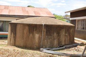 The Water Project:  Old Small Rainwater Tank