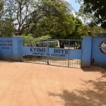 The Water Project: AIC Kyome Boys' Secondary School -  School Gate