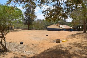 The Water Project:  School Playground And Basketball Hoop