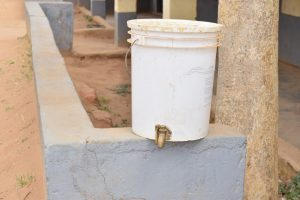 The Water Project:  Second Handwashing Station