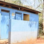The Water Project: AIC Kyome Boys' Secondary School -  Staff Latrines
