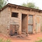 The Water Project: Kamulalani Primary School -  Old Boys Latrines