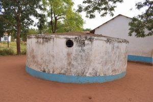 The Water Project:  Broken Down Rainwater Tank