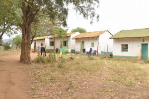 The Water Project:  Clothes Hang To Dry Behind Dorms