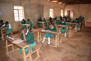 The Water Project:  Older Primary Students In Class