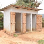 The Water Project: Matiliku Primary School -  Second Block Of Girls Latrines