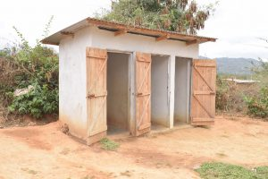 The Water Project:  Second Block Of Girls Latrines