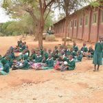 The Water Project: Matiliku Primary School -  Students Take Lunch