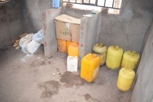 The Water Project:  Water Stored In Kitchen