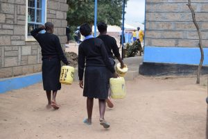 The Water Project:  Girls Carrying Water