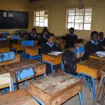 The Water Project: Kiundwani Secondary School -  Girls Studying