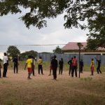 The Water Project: Kiundwani Secondary School -  Students Playing Volleyball
