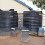 The Water Project: Kiundwani Secondary School -  Water Storage Tanks