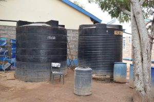 The Water Project:  Water Storage Tanks
