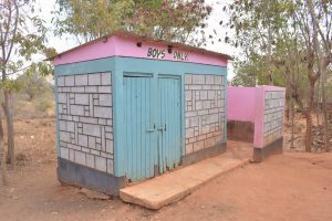The Water Project:  Boys Latrines And Urinals