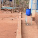 The Water Project: Katalwa Secondary School -  Handwashing Station