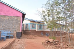 The Water Project:  School Compound And Buildings