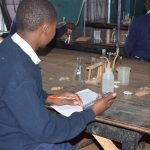 The Water Project: Katalwa Secondary School -  Science Class