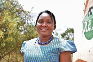 The Water Project:  Deputy Headteacher Zipporah Kathenge