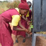 The Water Project: Nguluma Primary School -  Students Washing Their Hands