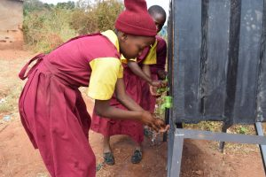 The Water Project:  Students Washing Their Hands