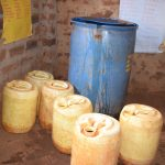 The Water Project: Nguluma Primary School -  Water Storage Containers