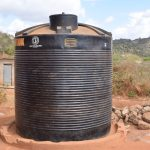 The Water Project: Nguluma Primary School -  Water Storage Structure