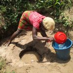The Water Project: Mummy Ann's Pre-Primary School -  Collecting Water
