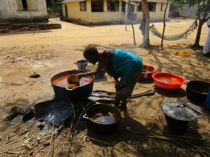 The Water Project:  Cooking Palm