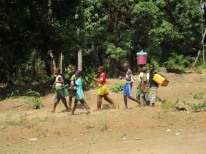 The Water Project:  Kids Travel To Fetch Water