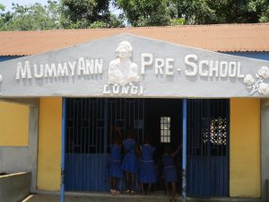 The Water Project:  Main School Building