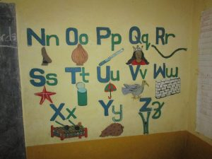 The Water Project:  Painted Alphabet In Classroom