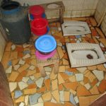The Water Project: Mummy Ann's Pre-Primary School -  School Toilets
