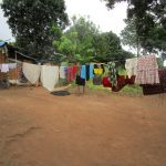 The Water Project: Gbontho Lane, Behind Gbontho Mosque -  Clothesline At Homestead