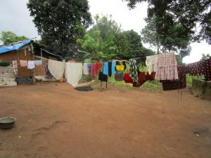 The Water Project:  Clothesline At Homestead