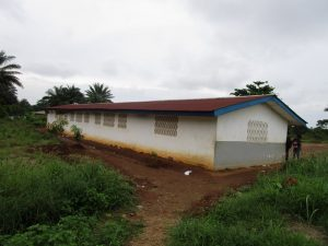 The Water Project:  School Building Back