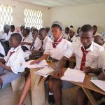 The Water Project: Rowana Junior Secondary School -  Students In Class