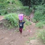 The Water Project: 45 Main Motor Road, The Redeemed Christian Church of God -  Carrying Water Up The Hill