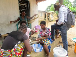 The Water Project:  Repairing Fishing Nets