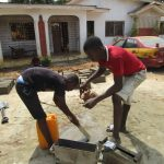 The Water Project: Transmitter, #14 Port Loko Road -  Brickmakers