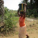The Water Project: Transmitter, #14 Port Loko Road -  Carrying Water