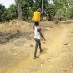 The Water Project: Transmitter, #14 Port Loko Road -  Carrying Water Home
