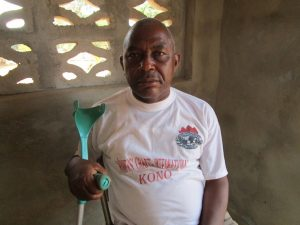 The Water Project:  Chester Mansaray